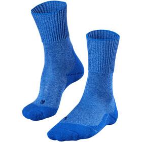 Falke TK1 Wool Calcetines de Trekking Mujer, azul